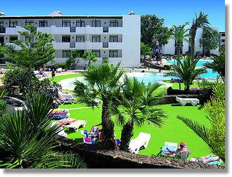 Hoteltipp für Urlaub Lanzarote 3 Sterne Hotel  El Trebol  in Costa Teguise Reisen Insel